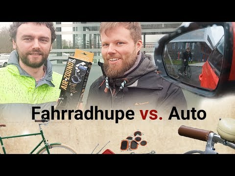 Fahrradhupe Airzound XL im Test - Sind Fahrradhupen legal?