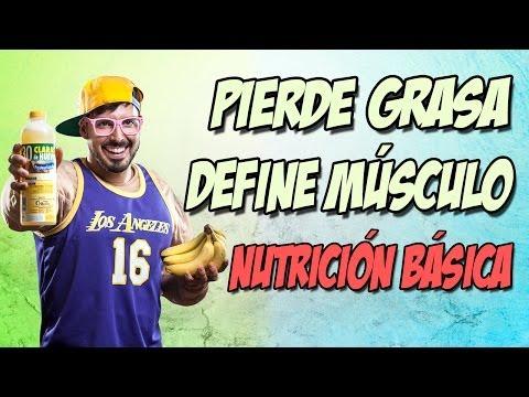 Cómo perder grasa y definir los músculos: dieta y nutrición