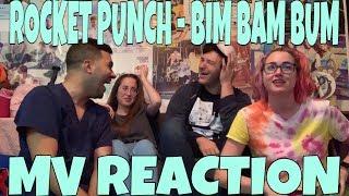 Rocket Punch (로켓펀치)   Bim Bam Bum (빔밤붐) MV Reaction [THERE WAS NO OPTION BUT TO STAN!]