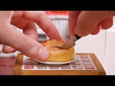 Mini Food Baked Cheese Cake 食べれるミニチュア ベイクドチーズケーキ