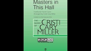 Masters In This Hall - Arranged by Cristi Cary Miller