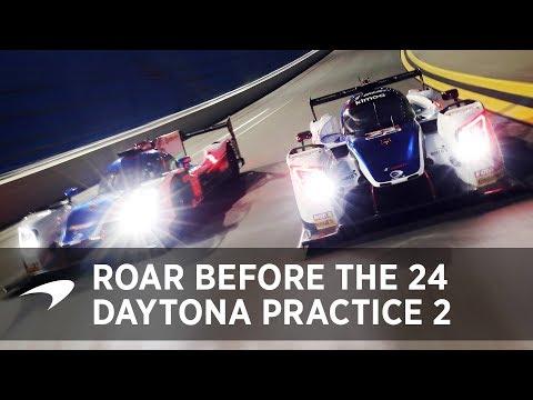 2018 Daytona 24 Practice: Day 2