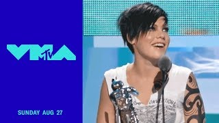 P!nk Wins 2002 Best Female Video for 'Get the Party Started' | 2017 Video Music Awards | MTV