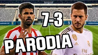 Canción Atletico Madrid Vs Real Madrid 7 3 (Parodia Otro Trago Remix) 2019