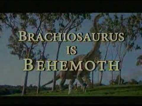 Apologists why do you think Behemoth means a dinosaur