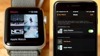 How to Load Music onto Apple Watch!