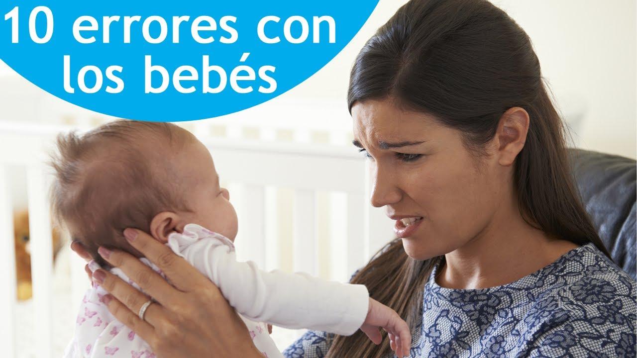 10 errores a evitar en la crianza del bebé