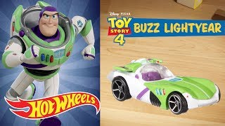 Disney•Pixar TOY STORY 4 Character Cars   Hot Wheels