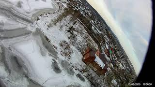 FPV Полет над прудом