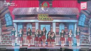 I.O.I 161119  Very Very Very 너무너무너무 + Dream Girls 드림걸스 @ 2016 MelOn Music Awards
