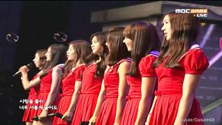 [Live HD] 110611 - A Pink - Wishlist - ABC Mart MSL Final