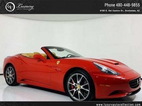 Pre-Owned 2014 Ferrari California 2+2 Convertible w/ Carbon Fiber Trim