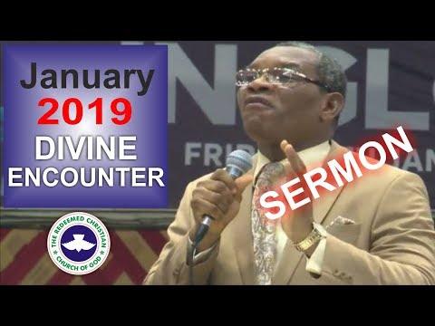 Pastor J.T Kalejaiye Sermon @ RCCG January 2019 DIVINE ENCOUNTER