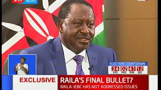 NASA co-principal Raila Odinga narrates how 2017 general elections were rigged