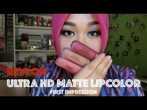 Ultra HD Matte Lipcolor by Revlon #3