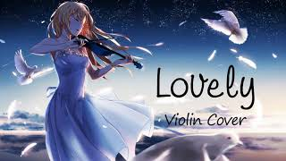 Billie Eilish   Lovely Ft. Khalid 1 Hour [Relaxing With Violin]