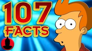 107 Futurama Facts YOU Should Know! - ToonedUp @CartoonHangover