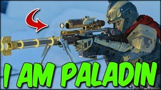 I AM ONE WITH THE PALADIN! SOME DISGUSTING VEHICLE SHOTS! COD BLACKOUT SOLO PALI WIN!