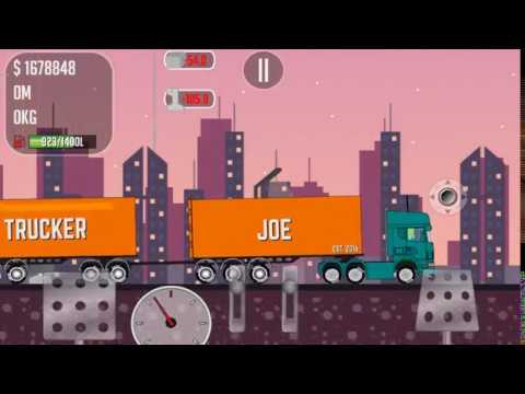 The game for android trucker Joe is transporting steel to the construction site of the launch pad