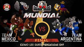 Gatada de Vatos Final Argentina VS México