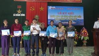 BTL Vùng Cảnh sát biển 1 đồng hành cùng ngư dân Quảng Bình