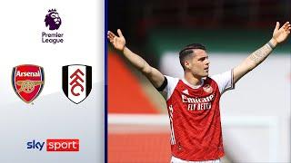 90.+7! Gunners retten Remis | FC Arsenal - FC Fulham 1:1 | Highlights - Premier League
