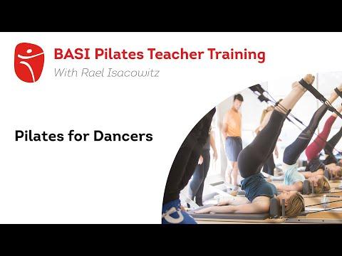 BASI Pilates Teacher Training   Pilates for Dancers with Rael ...