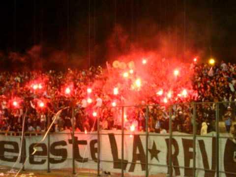 """Salida La Revo Iquique vs Huachipato 02/10/09"" Barra: Furia Celeste • Club: Deportes Iquique"