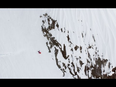 Skier Somehow Survives A Terrifying 300 Metre Tumble Down A Mountain