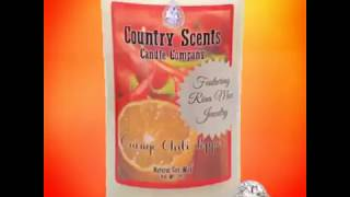 💍Country Scents Candles Featuring Rina Mae Candle Jewelry!