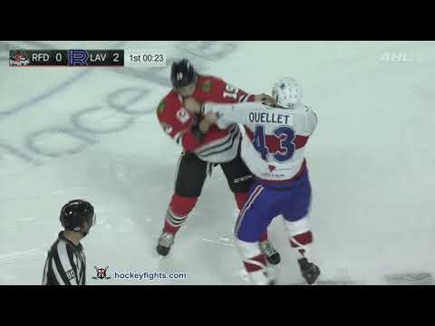 Xavier Ouellet vs. Joseph Cramarossa