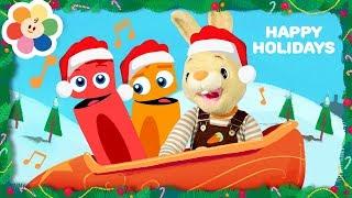 Deck The Halls Kids Christmas Carol | Nursery Rhymes + Best Christmas Songs for Children & Babies