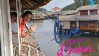 View from the deck | Alleppey | Kerala road trip from Bangalore | vlog 5