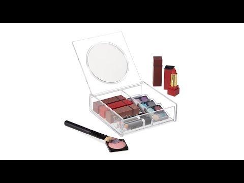 Make Up Organizer mit Spiegel