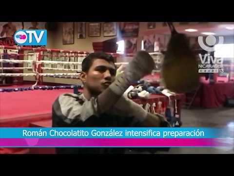 Román Chocolatito González intensifica preparación