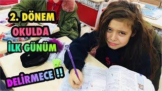 OKULA DÖNÜŞ, OKULDA İLK GÜNÜM VLOG, Back To School - funny kid video