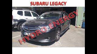 Subaru Legacy hidrojen yakıt tasarruf sistem montajı