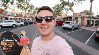 WHAT TO DO IN SCOTTSDALE ARIZONA (Ride the FREE trolly)