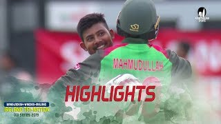 Highlights Bangladesh Vs Windies || Final Match || ODI Series || Tri-Series 2019