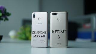 ASUS ZenFone Max M1 vs Xiaomi Redmi 6 Comparison - Specs, Camera, Features