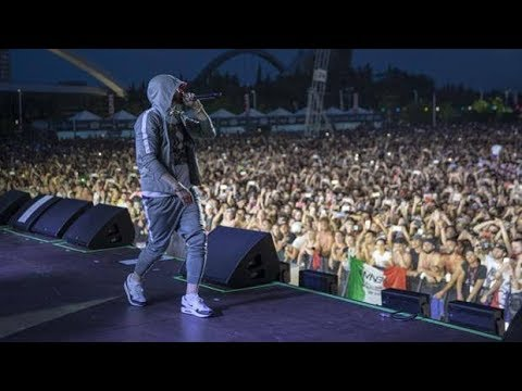 EMINEM - Not Afraid - Milano Revival tour - 7/7/2018