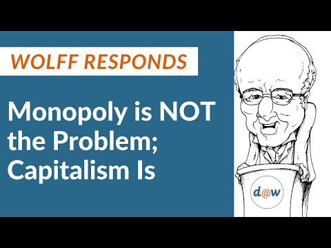 Wolff Responds: Monopoly is NOT the Problem; Capitalism is