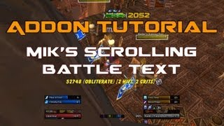 How to MSBT/Nice Damage fonts for WoW/Rycraze Gaming - Most