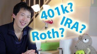 401k vs Roth 401k vs IRA vs Roth IRA   BeatTheBush