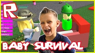 Baby Survives With No Mommy  Roblox