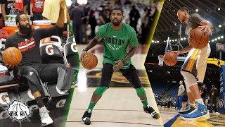 NBAずっと見ていられる!NBA選手たちのウォームアップ!