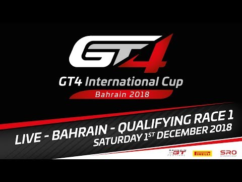 Qualifying  Race 1 - GT4 International Cup 2018 - Bahrain