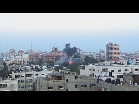 El ejército israelí intensificó los ataques y bombardeos