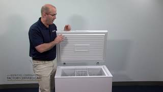 How to maintain your chest freezer.