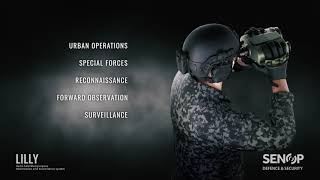 Senop's next generation handheld multipurpose observation and surveillance system weighs less th